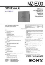Buy Sony MZ-E90 Service Manual. by download Mauritron #243110