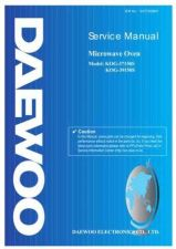 Buy Daewoo G37150S001(r) Manual by download Mauritron #226110