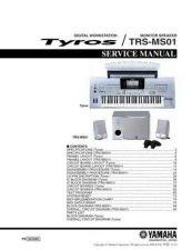 Buy Yamaha Yamaha YAMAHA-TRS-MS01 Service Manual by download Mauritron #259935
