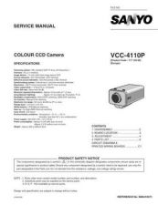Buy Fisher. Service Manual For VCC-4110P by download Mauritron #217487