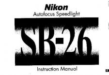 Buy NIKON SB-26 Instruction Manual by download Mauritron #266203