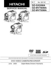 Buy Hitachi DZMV200EUK-2 Service Manual by download Mauritron #261884