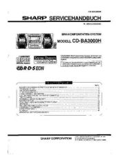 Buy Sharp CDBK137W Service Manual by download Mauritron #208437