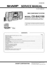 Buy Sharp CDBK300W (1) Service Manual by download Mauritron #208440