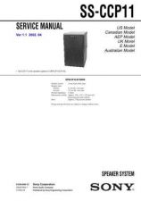 Buy Sony SS-CCP33 Service Manual. by download Mauritron #244640