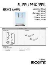 Buy Sony SU-PF1 - PF1C - PF1L Service Manual by download Mauritron #233315