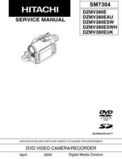 Buy Sony DZMV380E Service Manual by download Mauritron #231963