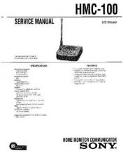 Buy Sony HMC-100 Service Manual by download Mauritron #241343