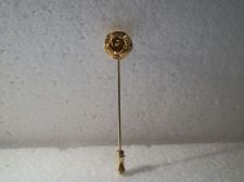 Buy Vintage Collectible ROSE gold tone Hat/scarf/lapel Stick Pin