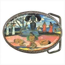 Buy The Day Of The Gods Paul Gauguin Fine Art Unisex Belt Buckle