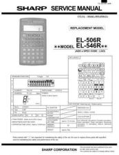 Buy Sharp EL-531V Technical Information by download Mauritron #232885