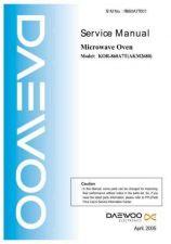 Buy Daewoo KOR-860A7T(AKM2680)R860A7T001 0509 Manual by download Mauritron #226209