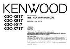Buy Kenwood KDC-X959 Operating Guide by download Mauritron #222408