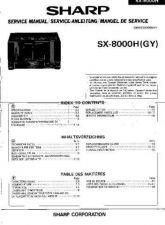 Buy JVC SX8000H SM GB-DE-FR(1) SERVICE MANUAL by download Mauritron #220681