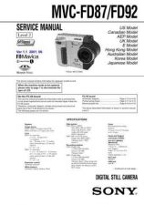 Buy Sony MZ-E10 Technical Information by download Mauritron #235790