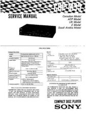 Buy Sony CDP-M51 Technical Information by download Mauritron #235436