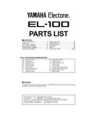 Buy Yamaha EL-900APoa8 Manual by download Mauritron #256619