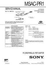 Buy Sony MSAC-PC2 Service Manual. by download Mauritron #242952