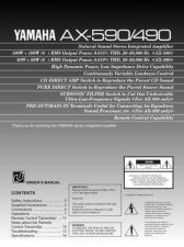 Buy Yamaha AX-55 Operating Guide by download Mauritron #246791