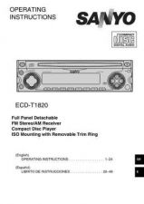 Buy Fisher ECDT1820(OM8010012-00) Service Manual by download Mauritron #215668