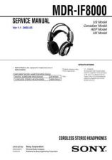 Buy Sony MDR-RF915RKRF945RK Service Information by download Mauritron #237928