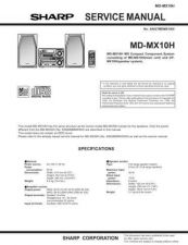 Buy Sharp MDMX10H Service Manual by download Mauritron #209079