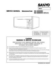 Buy Hitachi EMV5405SW(SS860313) Service Manual by download Mauritron #262181
