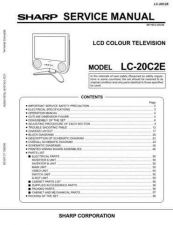 Buy Sharp LC20C2H-M Service Manual by download Mauritron #209904