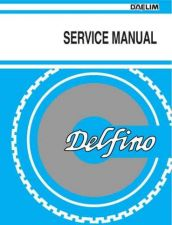 Buy Daelim Delfino 100cc '04 Bike Motorcycle Service Manual by download Mauritron