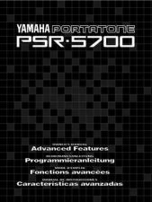 Buy Yamaha PSR5700E2 Operating Guide by download Mauritron #249369