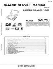 Buy Sharp DVL70U Service Manual by download Mauritron #208777