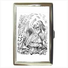 Buy Alice In Wonderland Falling Cards Cigarette Money Credit Card Wallet Case