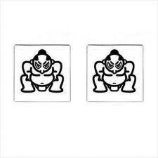 Buy Sumo Wrestler Japan Japanese Art Square Mens Cufflinks
