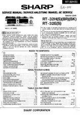 Buy Sharp RT32H-E -DE-FR Service Manual by download Mauritron #209514