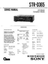 Buy Sony STR-D865-D965 Service Information by download Mauritron #238155