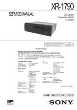 Buy SONY XR-4900 Technical Info by download #105357