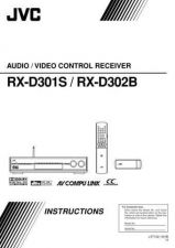 Buy JVC RX-D302B Service Manual. On by download Mauritron #272314