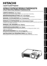 Buy Hitachi EDX3270_DE Service Manual by download Mauritron #262108