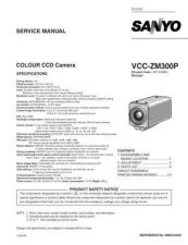 Buy Fisher. Service Manual For VCC-ZM300P by download Mauritron #217546