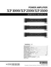 Buy Yamaha XP1000 2500 3500 MAIN Information Manual by download Mauritron #259909