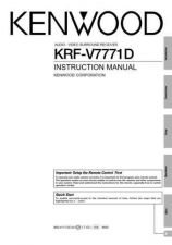 Buy Kenwood KRF-V8010D Operating Guide by download Mauritron #222797