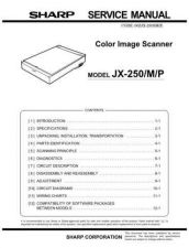 Buy Sharp JX-250 Technical Information by download Mauritron #232999