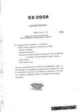 Buy JIL SX200A SCANNER WSM A209 by download #108793