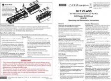 Buy Hornby 4-6-0 B17 Maintenance Sheets by download Mauritron #206673