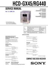 Buy Sony HCD-RG220---1 Manual by download Mauritron #229251