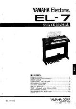 Buy JVC EL70-90 PCB7 E Service Manual by download Mauritron #250811
