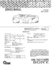 Buy Sony CFS-W305 Service Manual by download Mauritron #238966