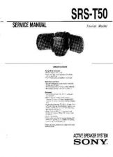 Buy Sony SRS-T50 Manual by download Mauritron #229790