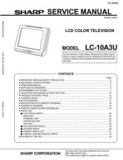 Buy Sharp LC10A3U(1) Service Manual by download Mauritron #208980
