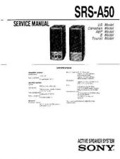Buy Sony SRS-A57 Service Manual. by download Mauritron #244563